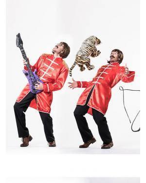 Fato Beatles Homem T. M/L Disfarces A Casa do Carnaval.pt