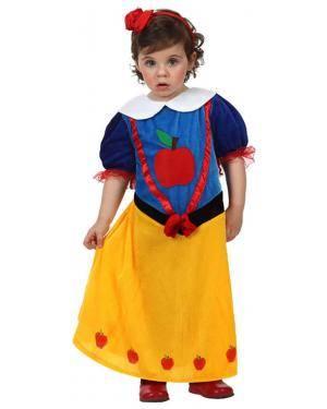 Fato Bebé Branca de Neve Maçã Disfarces A Casa do Carnaval.pt