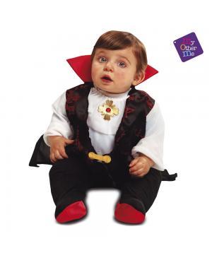 Fato Bebé Conde Dracula para Carnaval