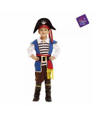 Fato Bebé Pirata para Carnaval