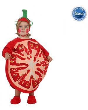 Fato Bebé Tomate Disfarces A Casa do Carnaval.pt