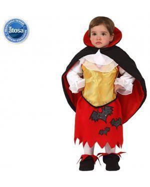 Fato Bebé Vampira Morcego Disfarces A Casa do Carnaval.pt