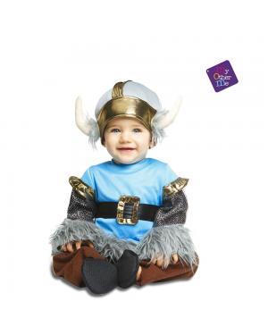 Fato Bebé Viking para Carnaval