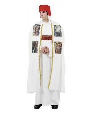 Fato de Bispo Medieval Adulto XL para Carnaval | A Casa do Carnaval.pt