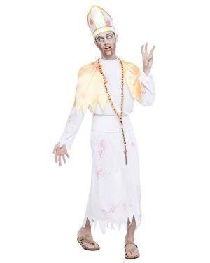 Fato Bispo Zombie T. M/L Disfarces A Casa do Carnaval.pt