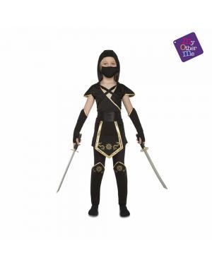 Fato Black Ninja Menina para Carnaval