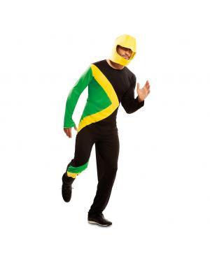 Fato Bobsleigh jamaicano para Carnaval
