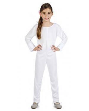 Fato Body Maillot Branco 7-9 Anos Disfarces A Casa do Carnaval.pt
