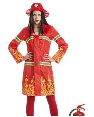 Fato Bombeira T. XL Disfarces A Casa do Carnaval.pt