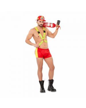 Fato Bombeiro Sexy para Carnaval