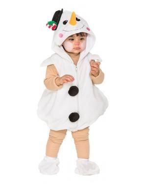 Fato Boneca de Neve Bebé de 1-2 anos Disfarces A Casa do Carnaval.pt