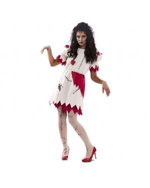 Fato Boneca Voodoo Tamanho M/L para Carnaval