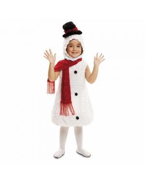Fato Boneco de Neve Pelucia para Carnaval