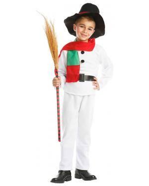 Fato Boneco Neve Criança 1-2 Anos Disfarces A Casa do Carnaval.pt