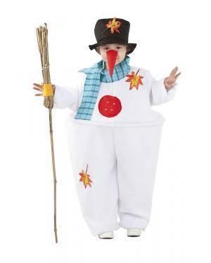 Fato de Boneco de Neve Infantil para Carnaval | A Casa do Carnaval.pt