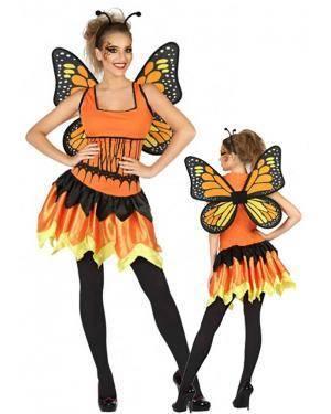 Fato Borboleta Mágica Adulto para Carnaval