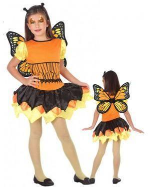 Fato Borboleta Mágica Infantil para Carnaval