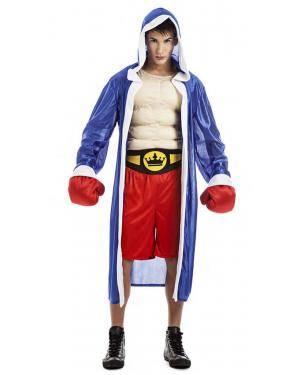 Fato Boxer Pugilista T. M/L Disfarces A Casa do Carnaval.pt