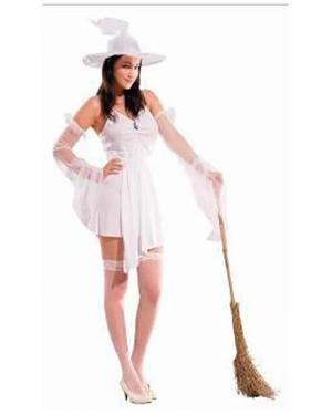 Fato Bruxa Branca Adulto Disfarces A Casa do Carnaval.pt