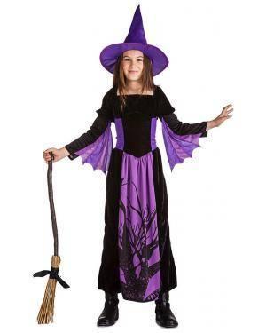 Fato Bruxa da Noite 10-12 Anos Disfarces A Casa do Carnaval.pt