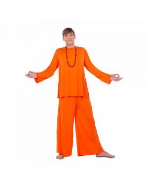 Fato Budista Homem M/L para Carnaval