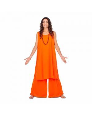 Fato Budista Mulher M/L para Carnaval