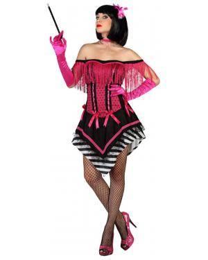 Fato Cabaret Anos 20 Rosa Adulto Disfarces A Casa do Carnaval.pt