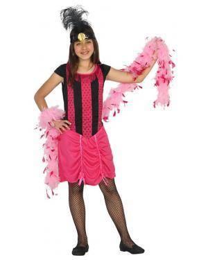 Fato Cabaret Western Menina de 3-4 anos, Loja de Fatos Carnaval, Disfarces, Artigos para Festas, Acessórios de Carnaval, Mascaras, Perucas 97 acasadocarnaval.pt