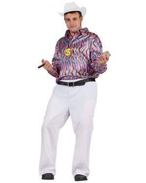 Fato Camisa Disco Adulto Disfarces A Casa do Carnaval.pt