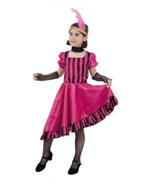 Fato de Can Can Rapariga 12 Anos para Carnaval | A Casa do Carnaval.pt