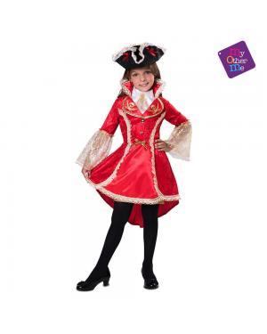 Fato Capitã Pirata para Carnaval