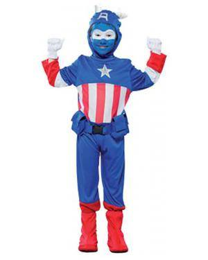 Fato Capitão Azul Menino Disfarces A Casa do Carnaval.pt