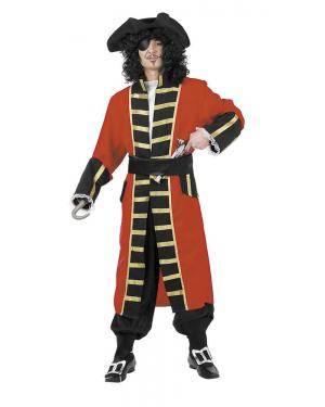 Fato de Capitão Pirata Adulto para Carnaval | A Casa do Carnaval.pt