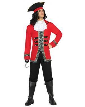 Fato Capitão Pirata Adulto M/L Disfarces A Casa do Carnaval.pt
