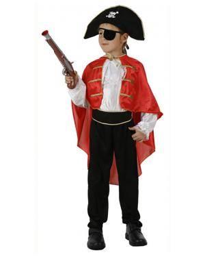 Fato Capitão Pirata Menino Disfarces A Casa do Carnaval.pt