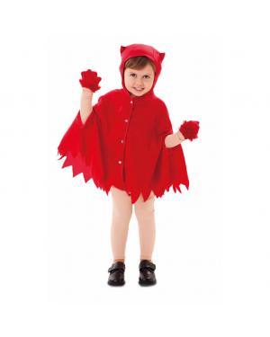 Fato Casaco Demônio Criança para Carnaval