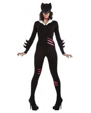Fato Cat Woman T. M/L Disfarces A Casa do Carnaval.pt