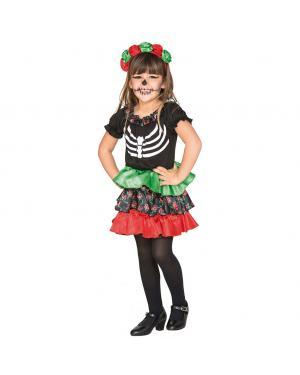 Fato Catrina Menina para Carnaval