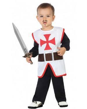Fato Cavaleiro Cruzadas Bebé para Carnaval
