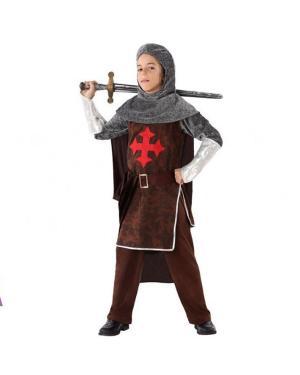 Fato Cavaleiro das Cruzadas Criança para Carnaval