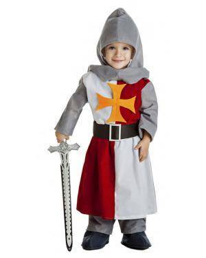 Fato Cavaleiro Medieval 1-2 Anos Disfarces A Casa do Carnaval.pt