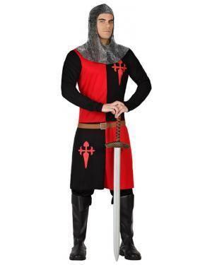 Fato Cavaleiro Medieval Adulto para Carnaval