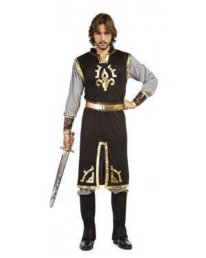 Fato Cavaleiro Medieval T. XL Disfarces A Casa do Carnaval.pt
