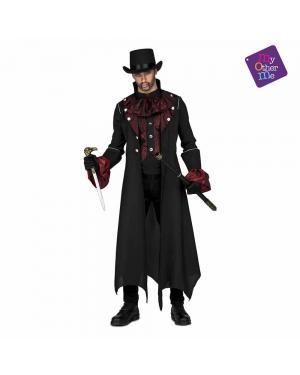 Fato Cavalheiro Vampiro M/L para Carnaval
