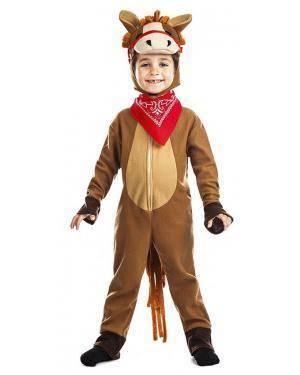 Fato Cavalo 5-6 Anos Disfarces A Casa do Carnaval.pt