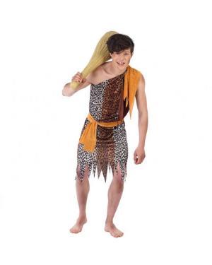 Fato Cavernícola Juvenil para Carnaval