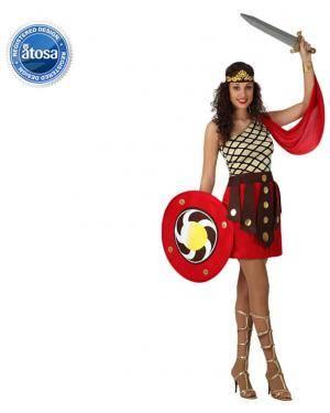 Fato Centurião Romana Mulher Disfarces A Casa do Carnaval.pt