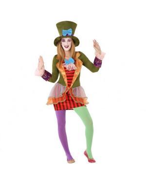 Fato Chapeleira Louca Juvenil para Carnaval