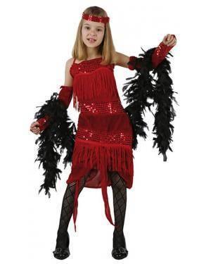 Fato Charleston Anos 20 Menina Disfarces A Casa do Carnaval.pt