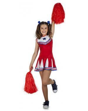 Fato Cheerleader 5-6 Anos Disfarces A Casa do Carnaval.pt